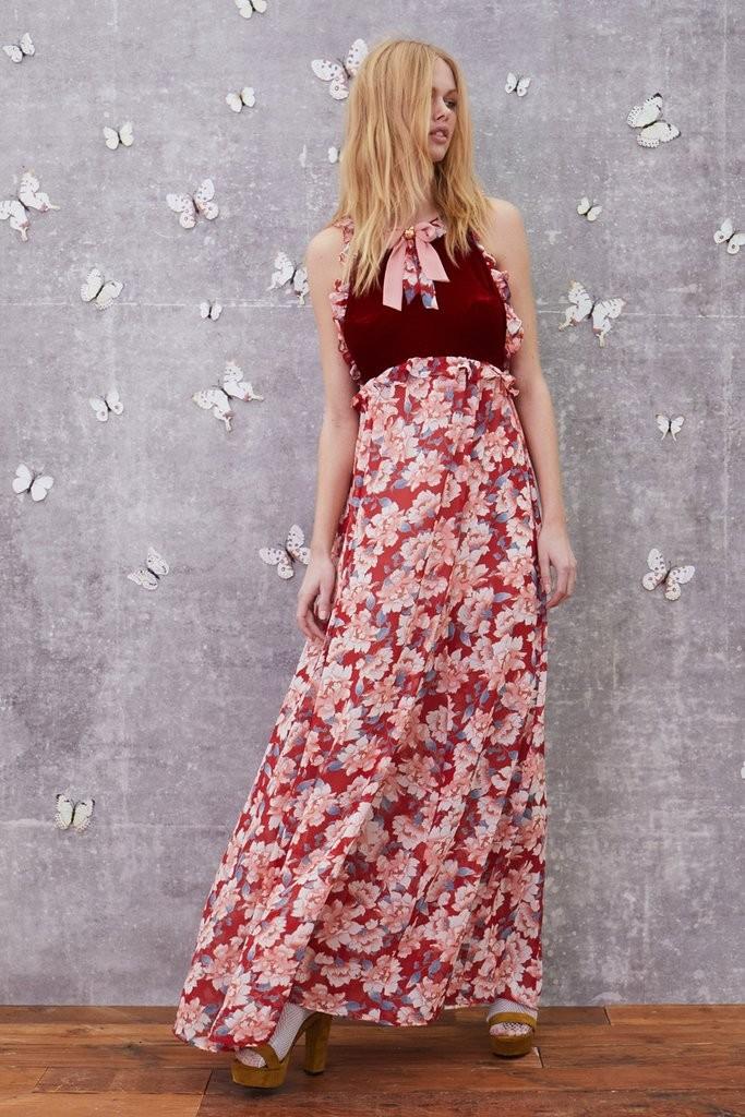 Blossom tank maxi dress