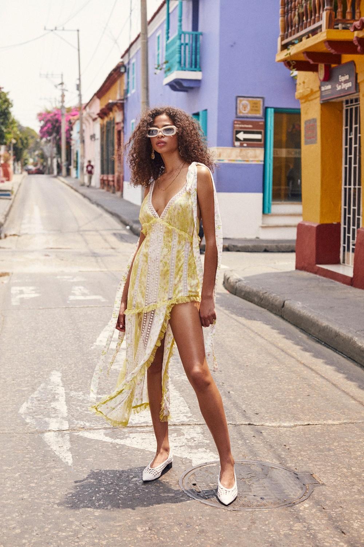 Limoncella maxi dress