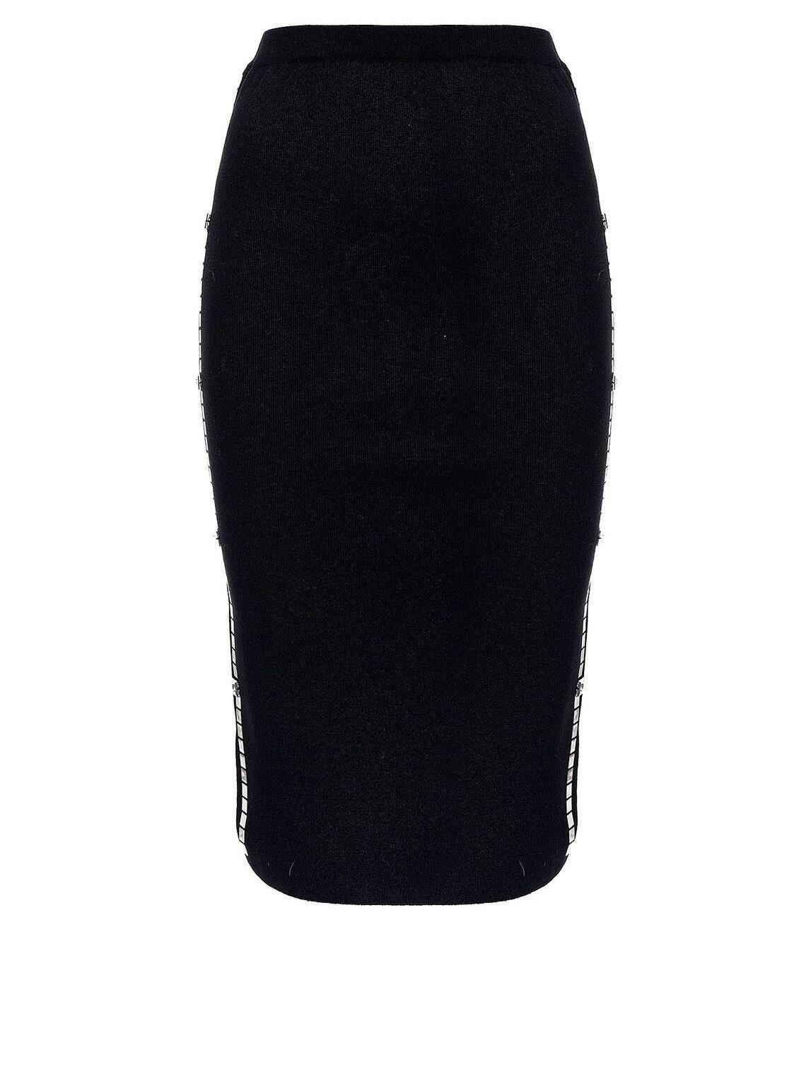 Falda con banda lateral