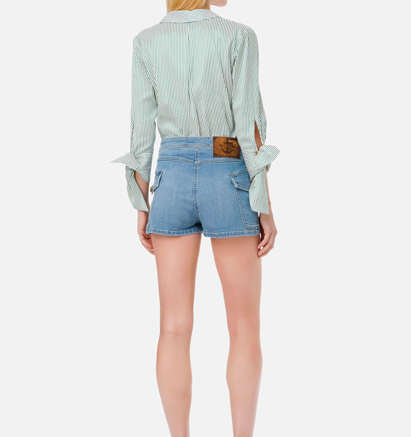 Camisa body con rayas
