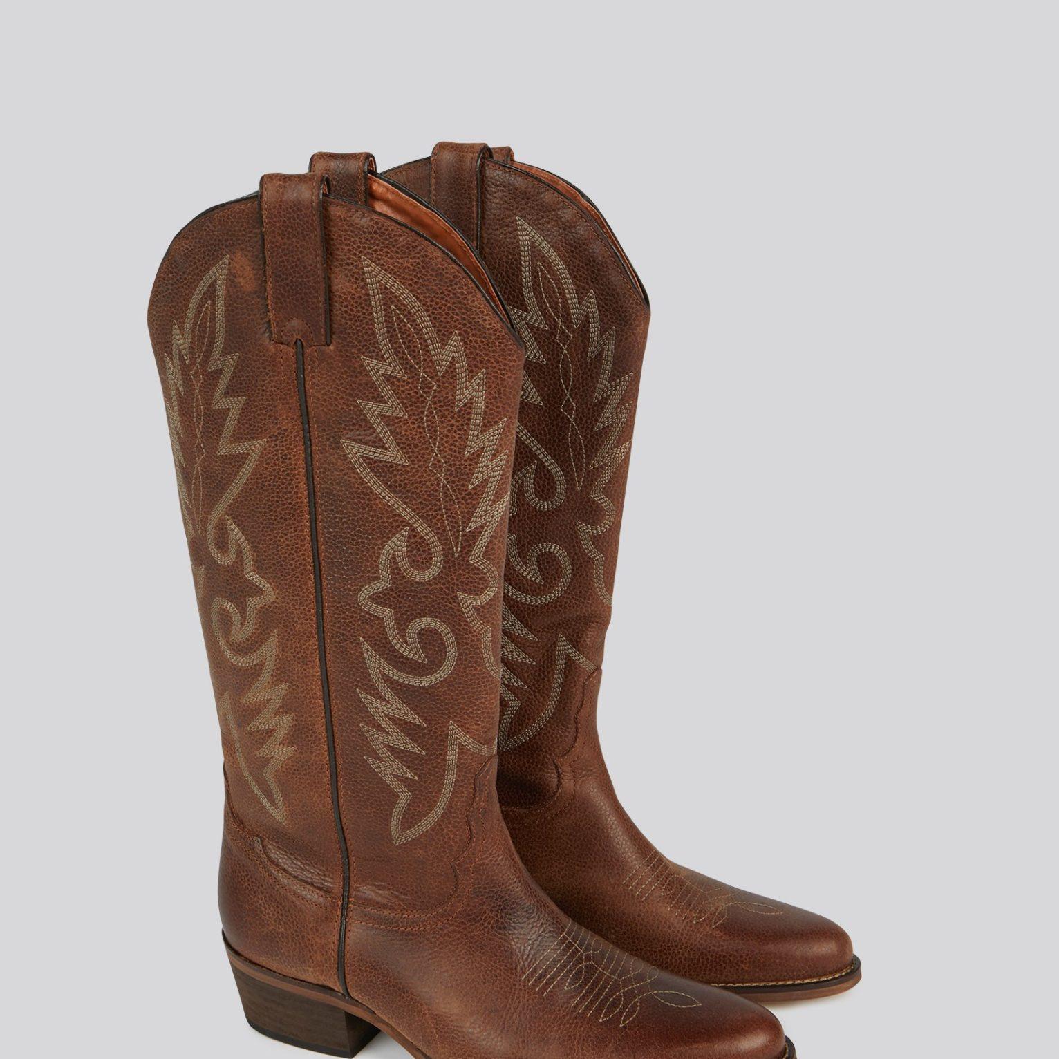 Botas cowboy de caña alta