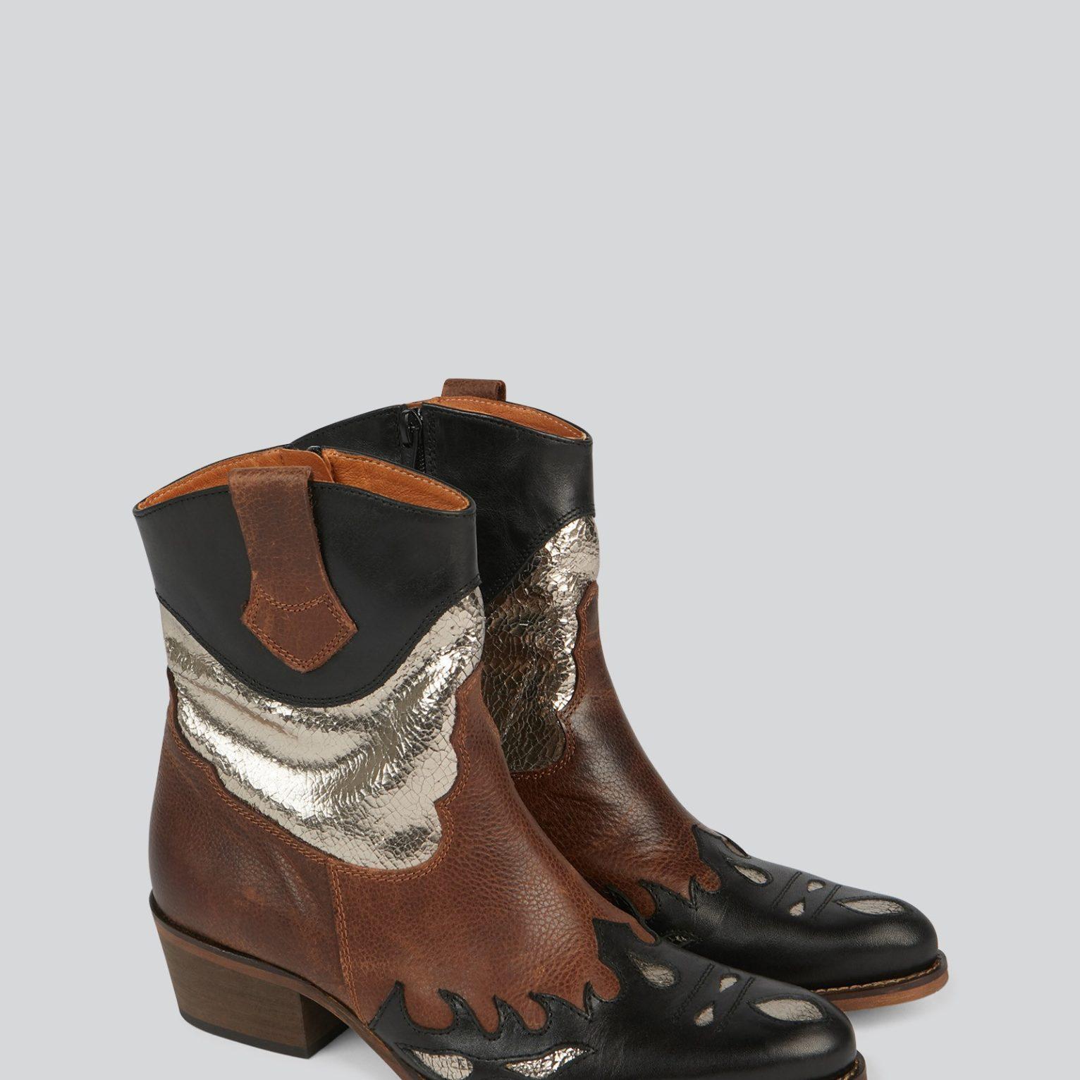 Botas cowboy ankle