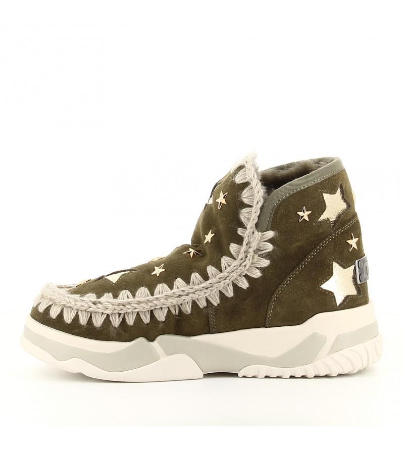 Mou Eskimo trainer leather stars