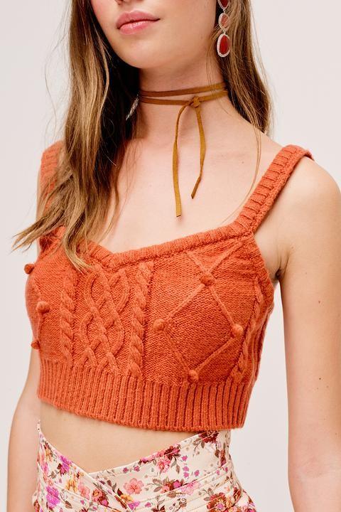 Florentina sweater tank ginger
