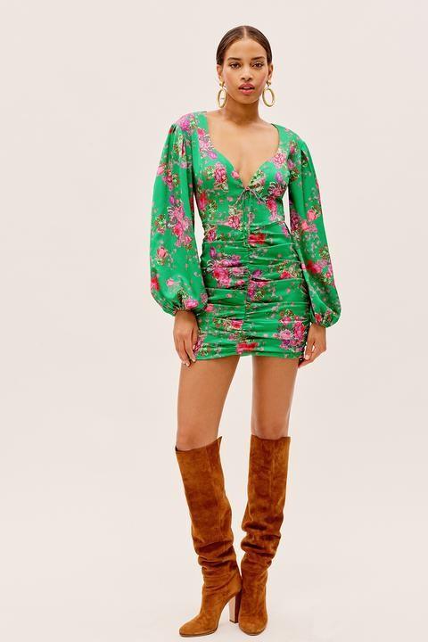 Wyatt mini dress